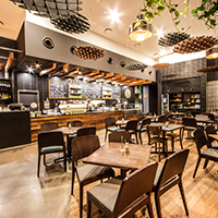 EQ Cafe lounge Canberra Deakin Catering