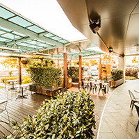 EQ Cafe lounge Canberra Deakin fancy outdoor seating
