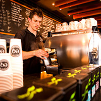 EQ Cafe lounge Canberra Deakin drinks, wine and beer